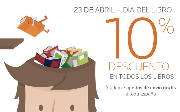 Día del libro: Solo el 23 de abril